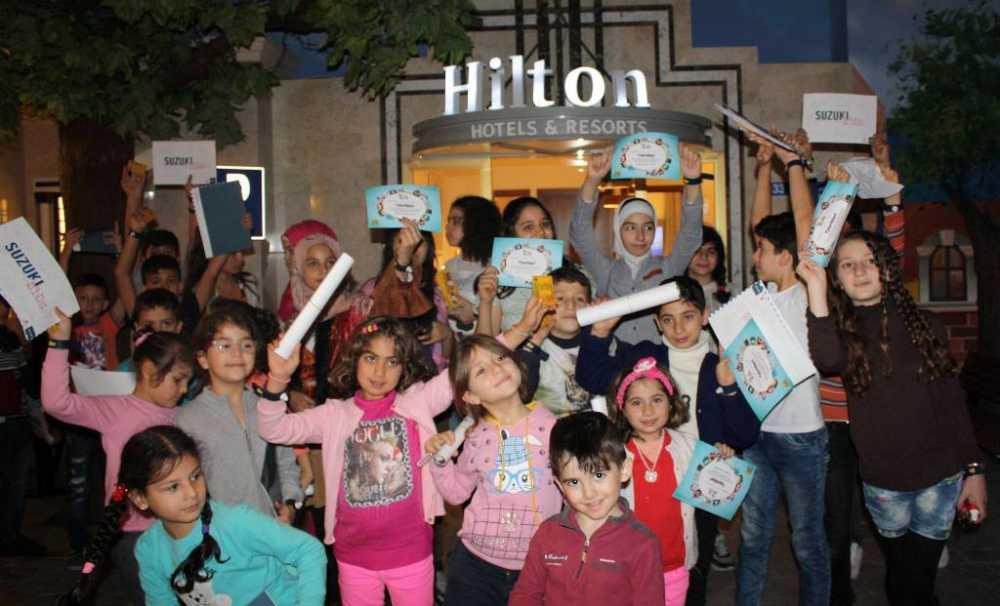 Hilton Istanbul Bölge Otelleri Hilton'Un Her Yıl Gerçekleştirdiği Küresel Hizmet Ayı Programını Kutladı