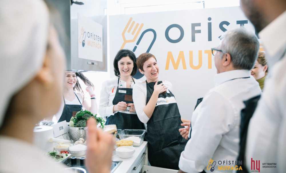"""İş Dünyasının Profesyonellerini Mutfağa Taşıyan """"Ofisten Mutfağa"""" Yarışmasının Başvuruları Başladı"""