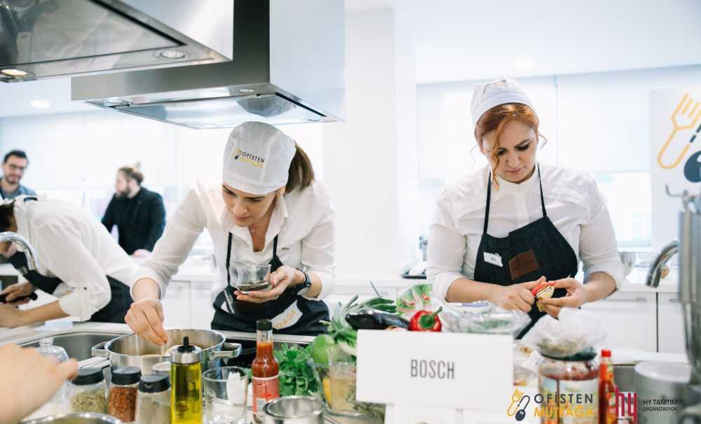 İş Dünyasının Rekabeti, Eğlenceli Yemek Yarışması Ofisten Mutfağa Taşınıyor