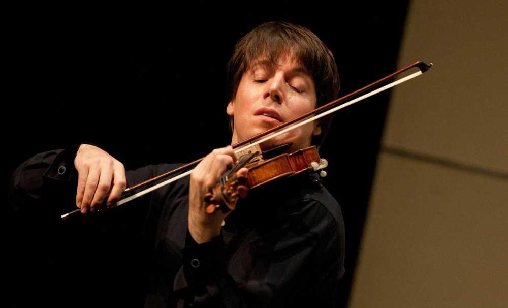 Joshua Bell, 4 milyon $ lık kemanıyla geliyor