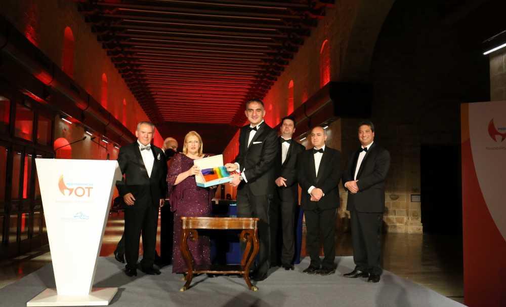 Murat Ersoy'a Akdeniz Turizm Forumu'ndan Büyük Ödül