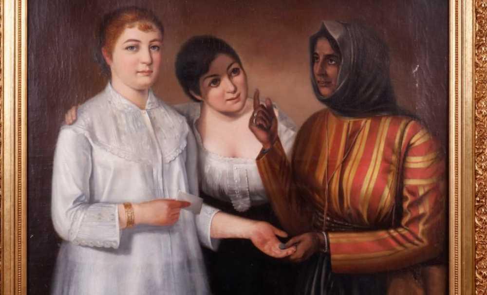 Osmanlı resim sanatı en kuvvetli anlatımına Ermeni ressamlar ile kavuşmuştur