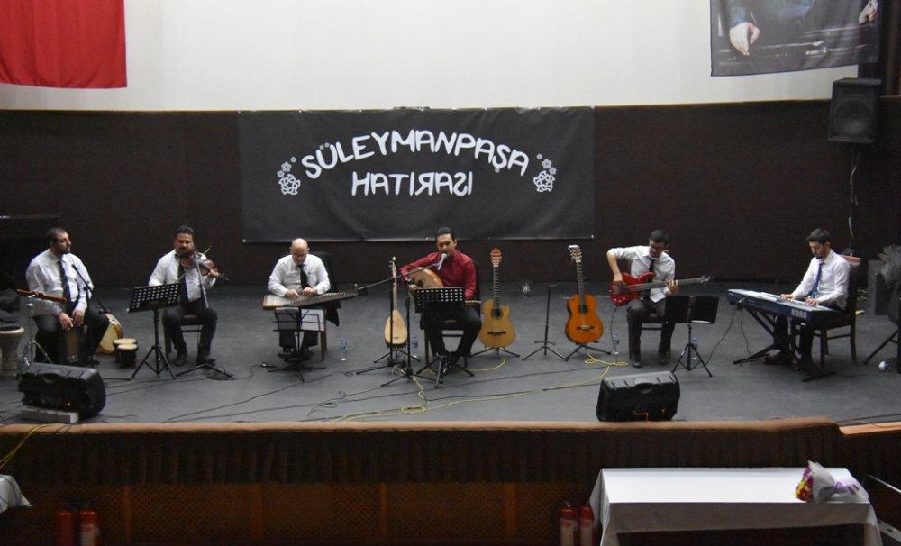 Salih Demirci ile Süleymanpaşa Hatırası Konseri gerçekleştirildi