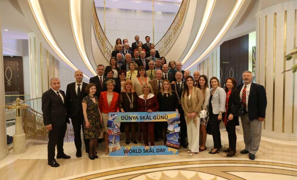 """Skal International İstanbul Kulübü """"Dünya Skal Günü""""nü Kutladı"""