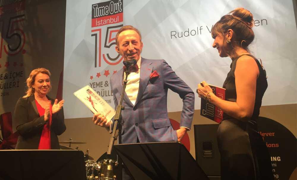 """Time Out Yeme-İçme Ödülleri'nin """"En İyi Şefi"""" Rudolf!"""