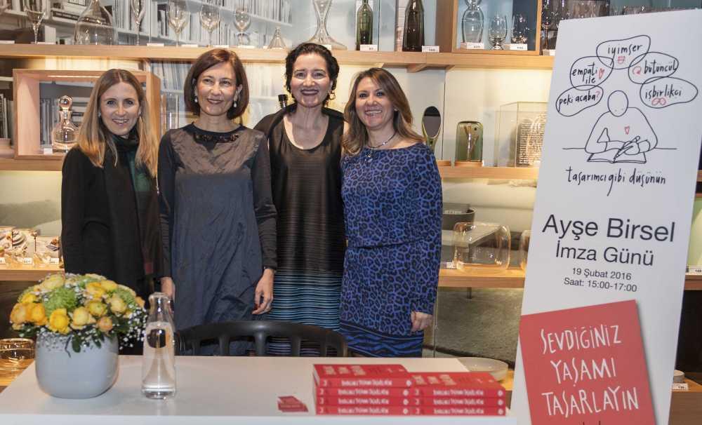 Ünlü Tasarımcı Ayşe Birsel'in Kitabı, Paşabahçe Mağazaları'nda Satışta