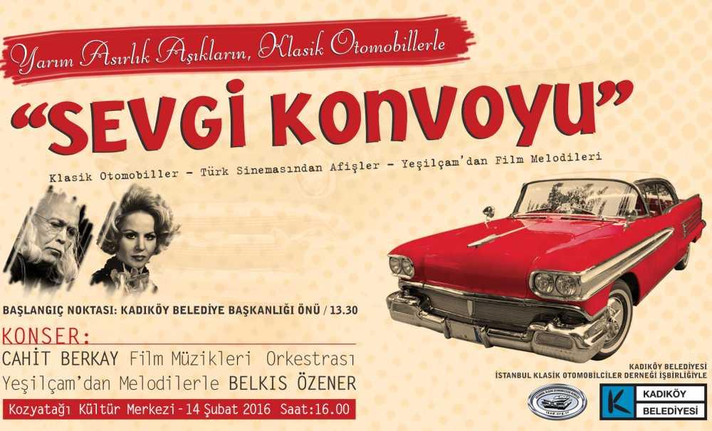 Unutulmaz Aşk Filmlerinin Otomobil Ve Şarkılarıyla 14 Şubat Kutlaması
