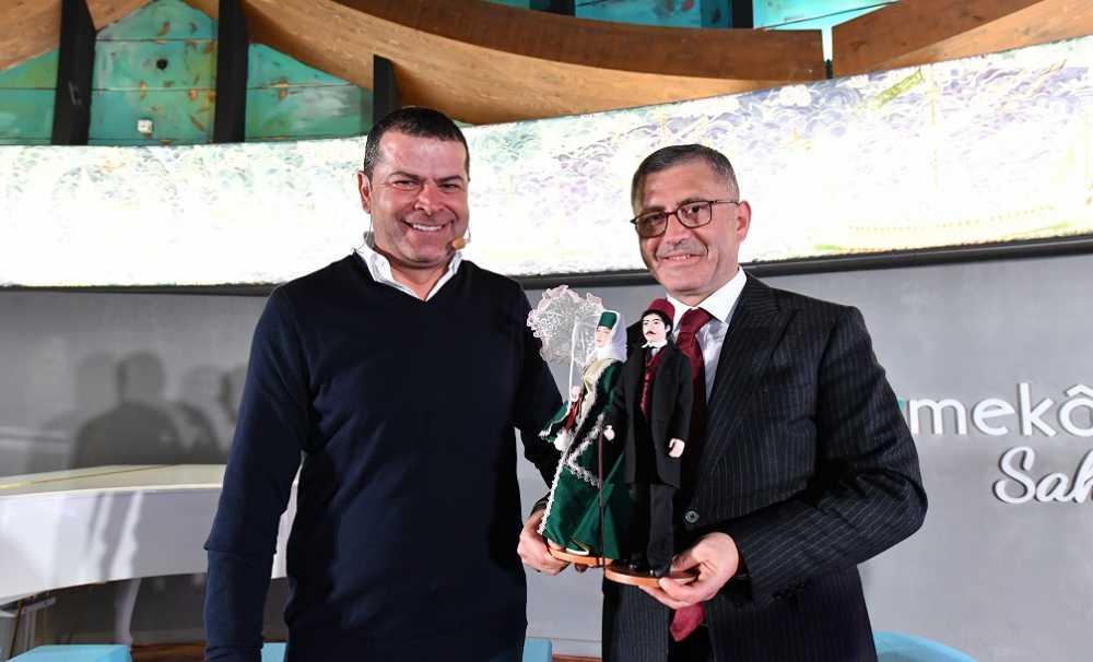 """""""Üsküdar Talks""""ın ilki, başarılı haberci Cüneyt Özdemir ile başladı.."""