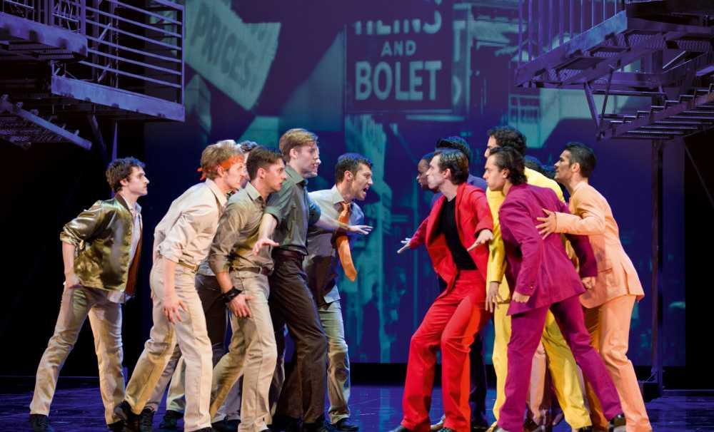 """""""West Side Story"""" müzikali, 80 kişilik ekibiyle uluslararası turnesine hazırlanıyor"""