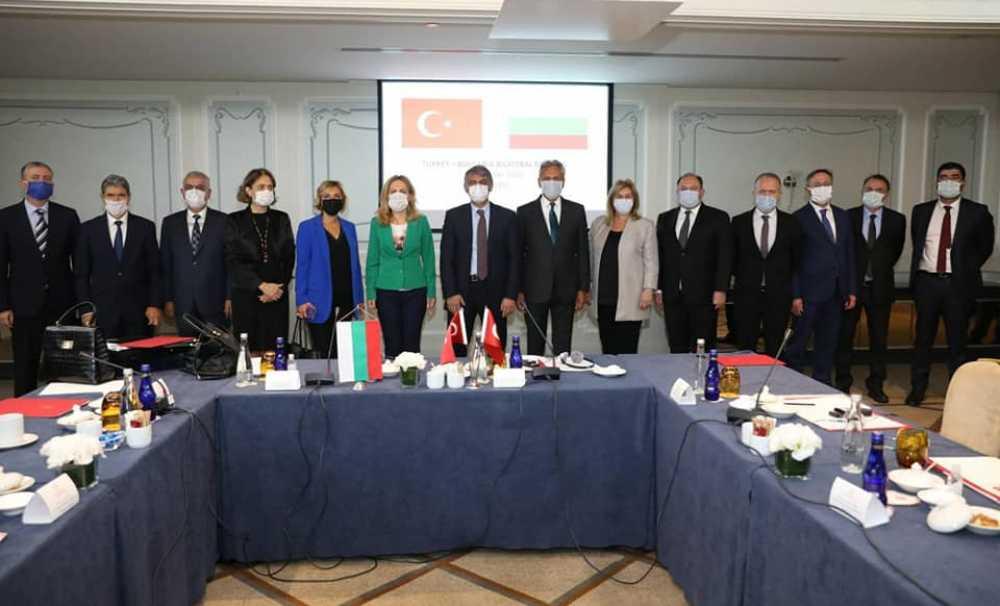 Bulgaristan -Türkiye Turizm Toplantısı CVK Bosphorus Hotel'de düzenlendi.
