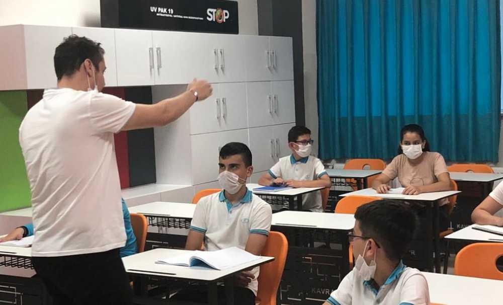 Yüzyüze eğitimin önemseyen Kavram Eğitim Kurumları Corona'ya karşı virüssavarları devreye soktu.