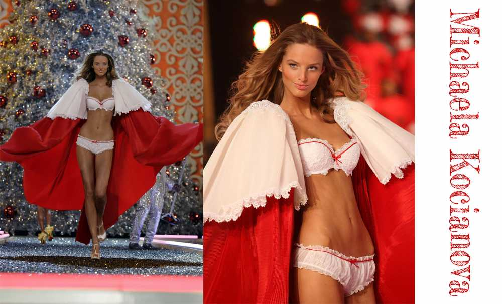 Victoria Secret Mankeni Michaela Kocianova  SAGAZA MADRID defilesi için İSTANBUL' DA