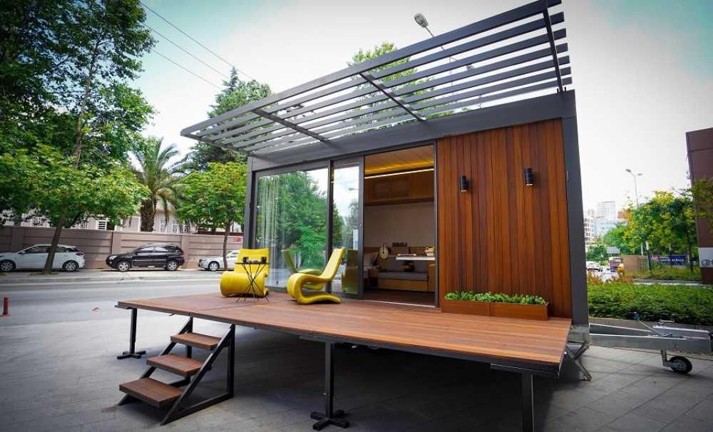 Luxial Mobil Ev doğa ile iç içe yeni bir yaşam tarzı sunuyor...