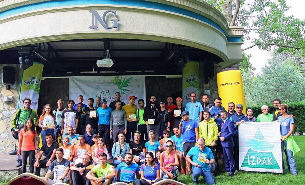 72 Yaşında Sapanca Ultra Maratonu'nda Ter Döktü
