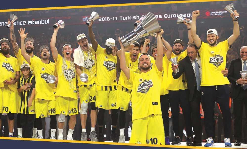 Eurolegue Kupası Trump AVM'de