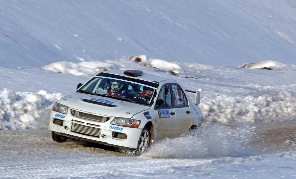 Ralli Sezonu Karlar Üzerinde Açılıyor...