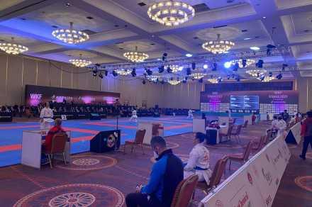 Karate 1 Premier League'in İstanbul etabına yaklaşık 80 ülkeden 650 katıldı.