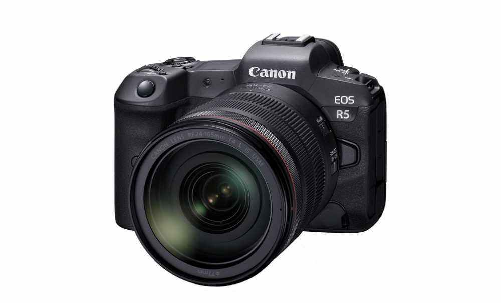 Canon 8K Video çözünürlüğe sahip EOS R5 'i tanıttı...