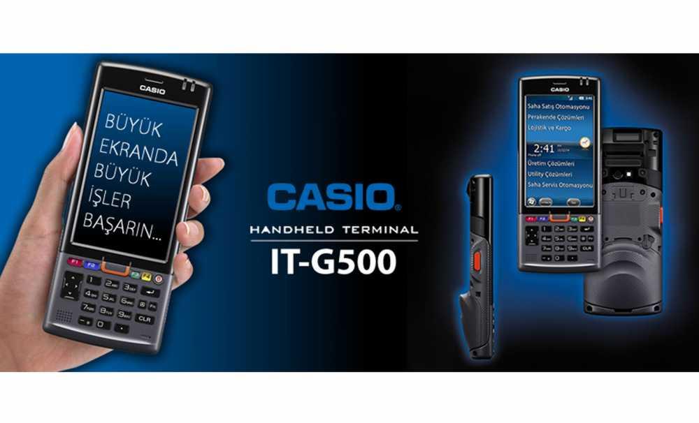 Casio It-G500 Büyük Ekranda Büyük İşler Başarın