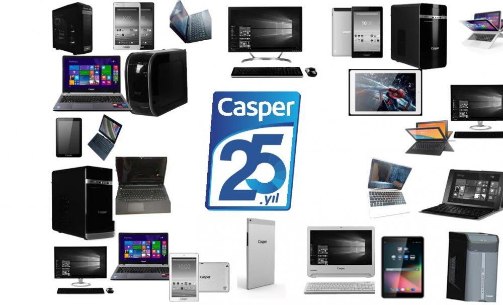 Casper 25'inci Yılını Kutluyor!