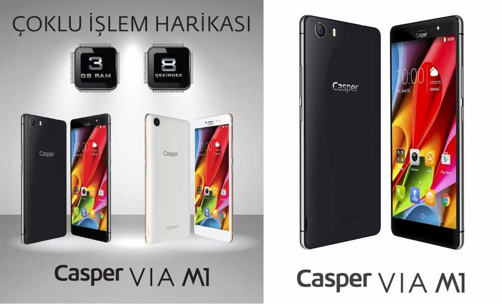 Casper, yeni akıllı telefonu VIA M1'le, teknoloji tutkunlarına 25. yıl sürprizi yaptı.