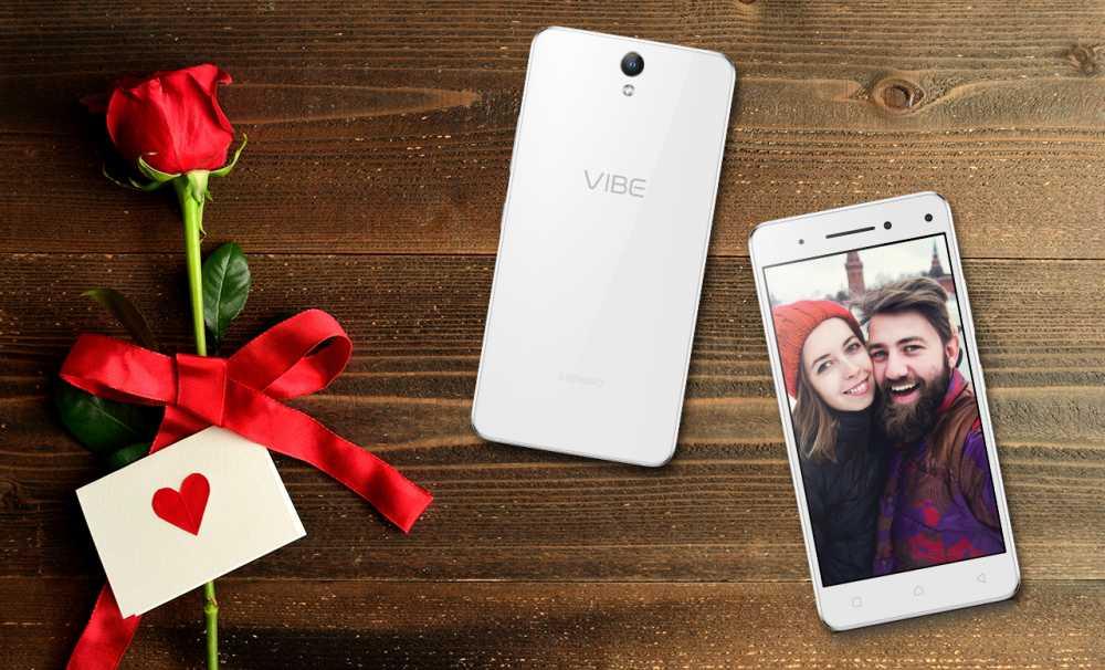 Çift Selfie Kameralı Lenovo VIBE S1 En Güzel Sevgililer Günü Hediyesi