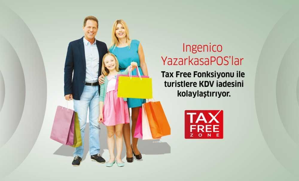 Ingenico Yazarkasapos'lar Tax Free Fonksiyonu İle Turistlere Kdv İadesini Kolaylaştırıyor