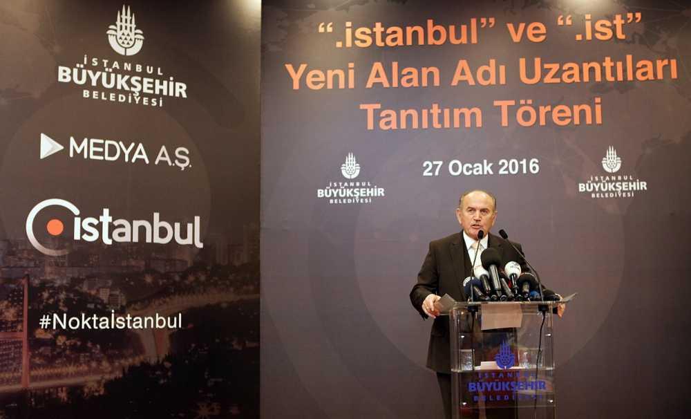 İstanbul'a internette milli alan adı