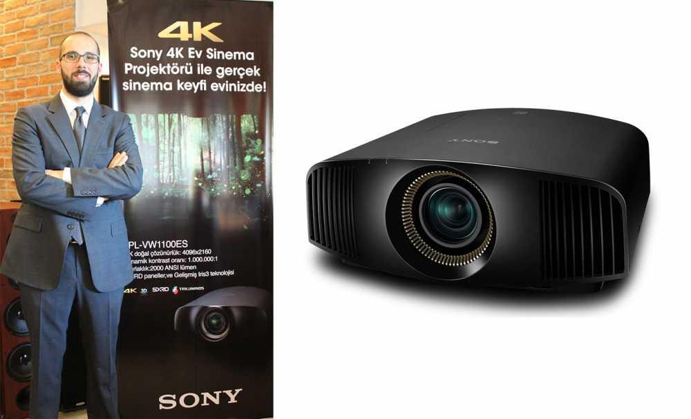Sony Yeni Ev Sineması projektörleri ile filmlere 4K, Full HD ve 3D kalitesinde hayat veriyor