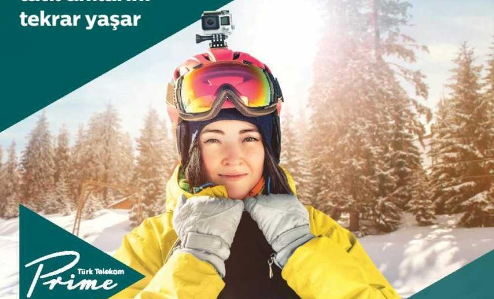 Türk Telekom Prime'dan Kış Ayrıcalıkları