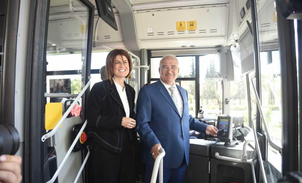 Türkiye'de ilk olarak Mersin'de hayata geçen Temassız Mastercard Toplu Taşıma Uygulaması Dünyaya Tanıtıldı