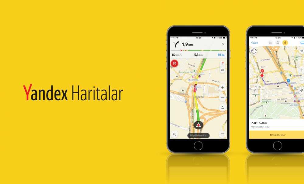 Yandex Haritalar'Da Sesli Navigasyon Ve Yürüyüş Yolları Güncellemesi