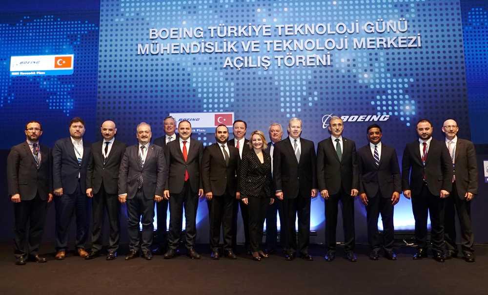 Boeing Türkiye'deki ilk Mühendislik ve Teknoloji Merkezi'ni Açtı