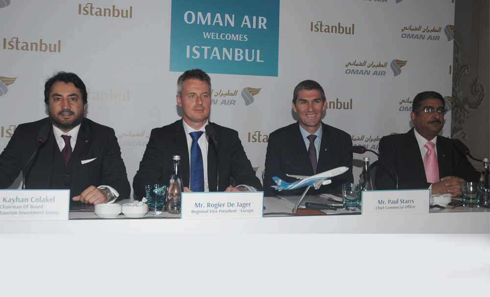 Oman Air, Uçuş ağına İstanbul'u ekledi