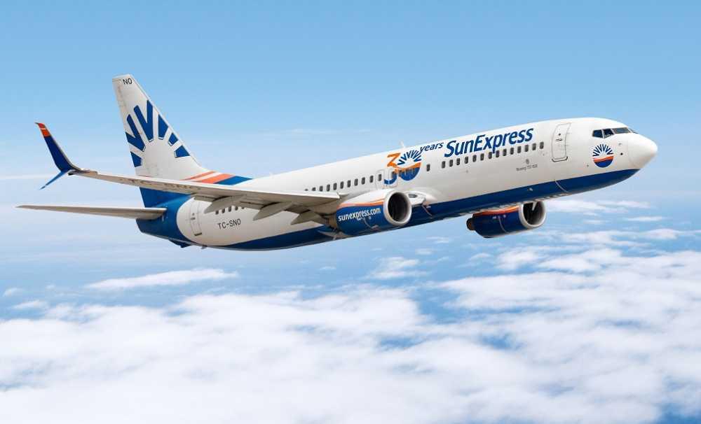 SunExpress, 1 Haziran'da iç hat uçuşlarına başlıyor....