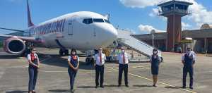 Corendon Airlines Zonguldak Havalimanına İlk Yolcularını İndirdi!,,,