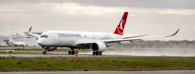 Türk Hava Yolları, ilk Airbus A350 XWB siparişini teslim aldı...