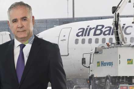 Havaş'ın işbirliğiyle airBaltic Avrupa'nın en dakik havayolu seçildi