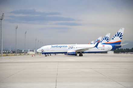 SunExpress Londra uçuşlarına başladı…